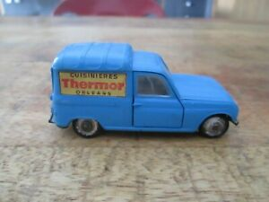 RENAULT 4 FOURGONNETTE THERMOR NOREV MADE IN FRANCE