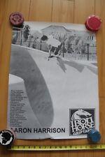 Aaron Harrison Iron Horse Griptape Pool Skateboards Skateboarding 18x24in Poster