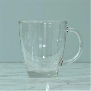 12oz Clear Transparent Glass Coffee Hot Latte Cappuccino Tea Drinking Cup Mug