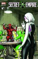 Secret Empire #5 Mike Mayhew Spider-Gwen Deadpool Variant NM Gemini Ship