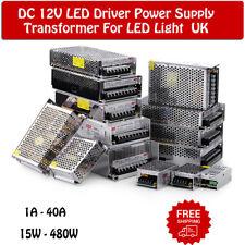 LED Driver DC12V Power Supply LED Transformers for LED Strips MR16 CCTV