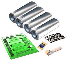 GTMat Pro 50mil 12 SqFT TWO DOOR Car Sound Deadener Road Noise Insulation Kit