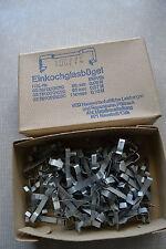 100 Stück Einkochbügel für Einkochgläser Original DDR