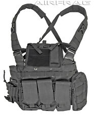 Black MOLLE Strikeforce RRV Chest Rig For Airsoft Guns