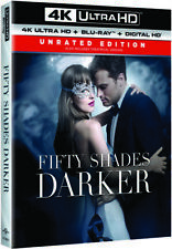Fifty Shades Darker [New 4K UHD Blu-ray] With Blu-Ray, UV/HD Digital Copy, 4K