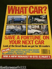 WHAT CAR? - SAVE ON YOUR NEXT CAR - MARCH 1991