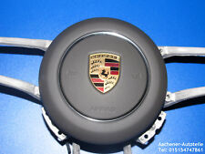 org. Porsche 991 981 970 95 B 958 Turbo Airbag volant gris agate 19 KM course