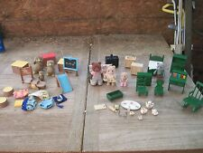 Epoch Calico Critters & Sylvanian Families Animal Doll House Furniture & Access.