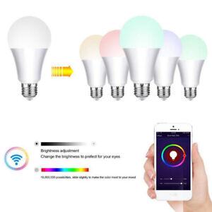 E27 B22 Wifi Smart APP Remote Control Wifi Light Bulb For Echo Alexa Google Home