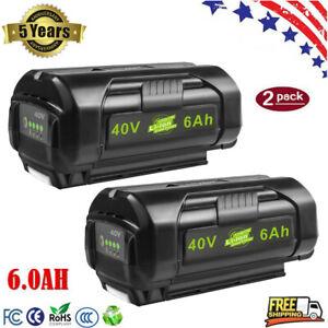 40V 6Ah OP40261 For Ryobi 40 Volt Lithium Battery High Capacity OP4015 OP4026 US