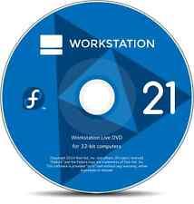 Fedora Linux. Live or install DVD 32bit, 64bit Workstation