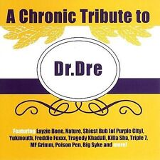A Chronic Tribute to Dr. Dre Various Artists CD 2007(Nipsey Hussle Sloan Layzie)