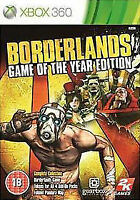 Borderlands Game Of The Year Edition Classics - Xbox 360 - Fast Dispatch!!