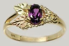 Handcrafted S. Dakota Black Hills Red Green 12kt Gold Amethyst Ancient Carthage