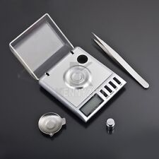 Portable 0.001-20g Digital LCD With Balance Weight Milligram Jewelry Scale
