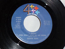 Cookie Irene: I Know (You Don't Love Me No More) / Hello Love  [VG++ Copy]