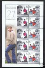 British Indian Ocean Territory 2003 Williams 21st Birthday SHEET SG286/7 MNH