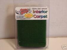 1:24 Scale Model Accessories Green Interior Carpet Kit