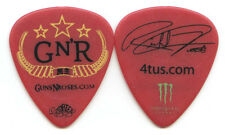 GUNS N ROSES 2011 Tour Guitar Pick!!! RICHARD FORTUS custom concert stage Pick