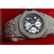 AP Audemars Piguet Royal Oak Offshore 30.00 ct ROUND excellent Cut Diamonds