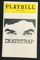 BROADWAY PLAYBILL - Dec 1981 - DEATHTRAP - Farley Granger / Marian Seldes   b4