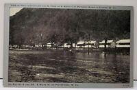 Petersburg W Va HOTT'S COTTAGES N FORK S BRANCH Potomac River Cabin Postcard D17