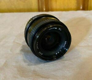 Tokina EL 28mm 1:2.8 49mm Prime Lens for Olympus Satisfaction Guaranteed LOOK