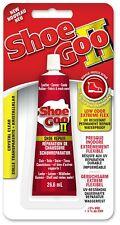 Shoe Goo II (2) NEW Low Odour Shoe Glue Permanent Repair Crystal Clear 26.6ml