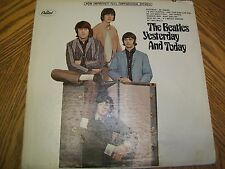 BEATLES - Yesterday & Today. Paste over RARE Butcher Cover. Stereo. 1966