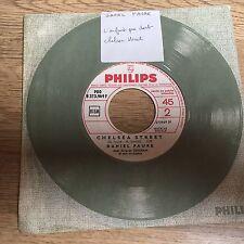 45 tours promo juke-box Daniel FAURE L'enfant qui dort / Chelsea street 1967 EXC