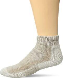 Thorlo Women's 186566 Light Hiking Moderate Padded Ankle Socks Khaki Size L