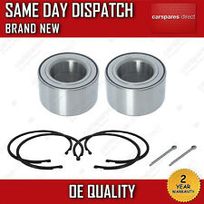 x2 FIT FOR A NISSAN X-TRAIL T30 2001>2013 FRONT HUB WHEEL BEARINGS PAIR *NEW*