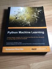 Python Machine Learning by Sebastian Raschka (2015, Trade Paperback)