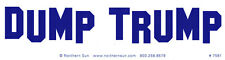 Dump Trump - Magnetic Bumper Sticker / Decal Magnet