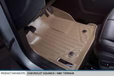 Maxliner 2010-2011 Chevrolet Equinox Floor Mat  Dual Hooks Complete Set Tan