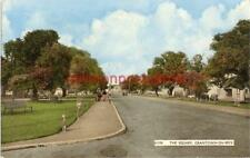 PRINTED POSTCARD OF THE SQUARE, GRANTOWN-ON-SPEY, MORAYSHIRE, SCOTLAND