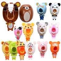 Distributeur automatique de dentifrice Porte-brosses A dents pour enfants B G8T4