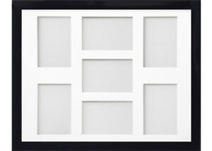 Frame Company Candy Black Multi Aperture Collage Picture Photo frame & Mount