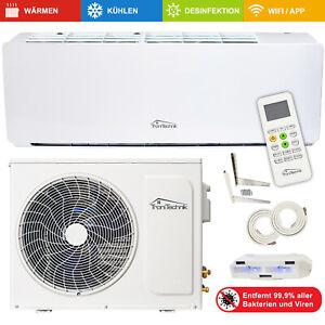 Split Klimaanlage Lokales Klimagerät 9000 BTU 5in1 Luftreinigung WLAN Eco 5m CU