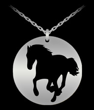 Horse Necklace Mother's Day Gift For Horse Lover Mom Her Equestrian Jewelry Gift