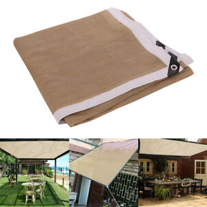 Sun Shade Sail Outdoor Garden Waterproof Canopy Patio Cover UV Block Top Canopy