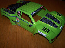 1/10 Axial Yeti Score Trophy Truck Green Body w/ Roll Cage & Spare Tire SCT