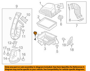 GM OEM Air Cleaner Intake-Air Cleaner Body Upper Insulator 9129705
