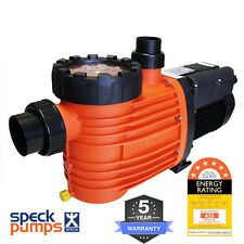 Speck Pro 500 DS Dual Speed 0.75/2.0hp 0.3/1.5kw Energy Efficient Pool Pump 5y