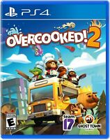 Overcooked 2 PS4 PlayStation 4 Brand New