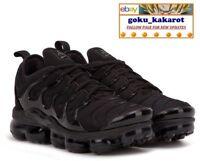 Nike Air Vapormax Plus Black UK Size 4 4.5 5.5 6 7 8 8.5 9 10 Trainers 97 Max TN