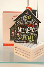 EL MILAGRO DE LA NAVIDAD~2016 HALLMARK ORNAMENT~SHIPS NOW~FREE SHIP IN US
