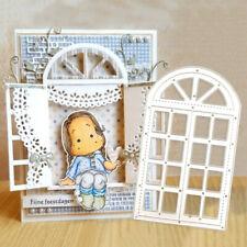 Window Frame Metal Cutting Die Stencil for Scrapbooking Card Embossing Craft DIY