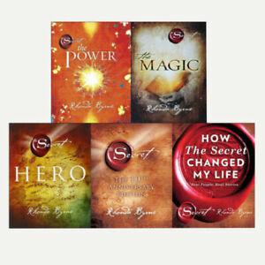 Rhonda Byrne The Secret Series 5 Books Collection Set Hero,Power,Magic,Secret