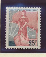 France Stamp Scott #927, Mint Never Hinged